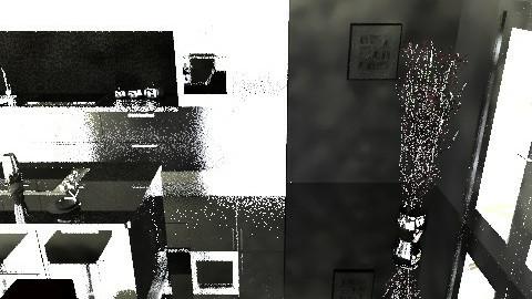 black and white - Minimal - Kitchen  - by kayt20072007