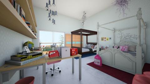 Nerina sibling remodel - Modern - Kids room  - by fade