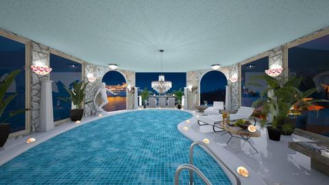 Hotel Pool Template - Glamour - Bathroom  - by BlackOrchidea