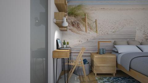 Dormir en la playa - Bedroom  - by Gabylez
