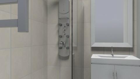 small bathroom - Minimal - Bathroom  - by Maleli