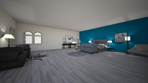 tealish room - Bedroom  - by w167955