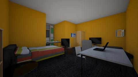TB Bedroom - Bedroom  - by Carii64