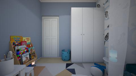 sam - Kids room  - by zozan