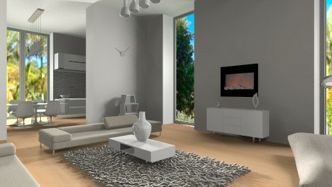 minimalistic - Living room - by teen bedroom