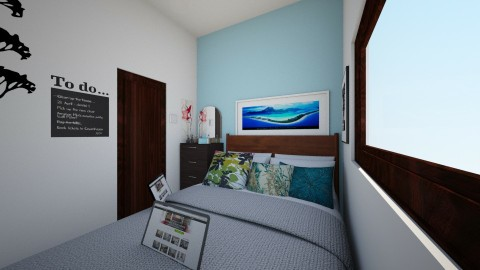 Small Space Bedroom - Bedroom - by MingKai21