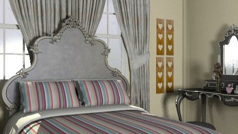 my little heaven - Glamour - Bedroom - by blondina14