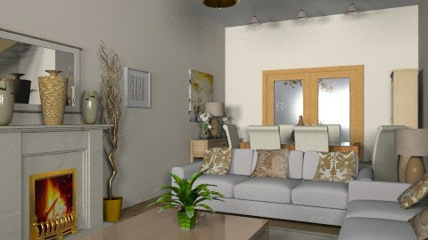 Basix x  3 - Country - Living room  - by Cathd0411