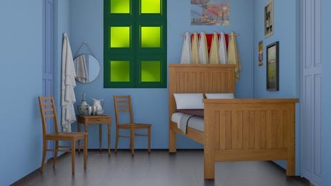 Van Gogh Bedroom - Vintage - Bedroom  - by Oyisha