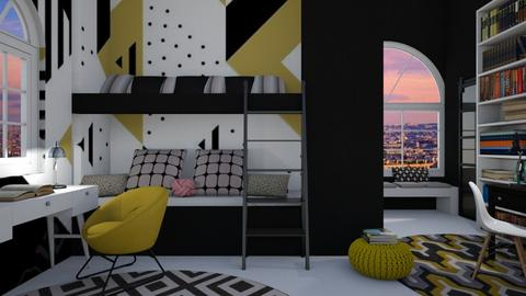 Bunk bedroom - Bedroom  - by Miss MH