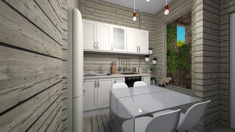 Casa176KitchenDining - Rustic - Kitchen  - by nickynunes
