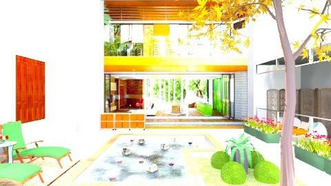 Orange House Remx - Vintage - by iGalaxy