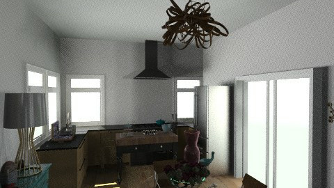 Kitchen Dining - Eclectic - Kitchen  - by nonacr267