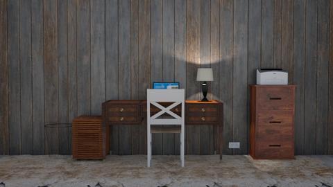ol rustic office - Office  - by jaxo