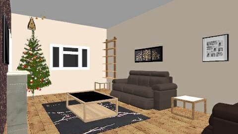 christmas living room - Living room - by chelsiemia
