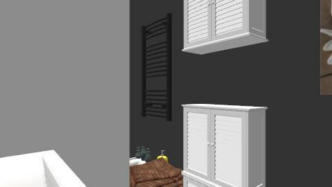 salle de bain/ plan 4 - Retro - Bathroom  - by Yellow1806