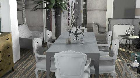 poltr - Dining Room  - by naki1
