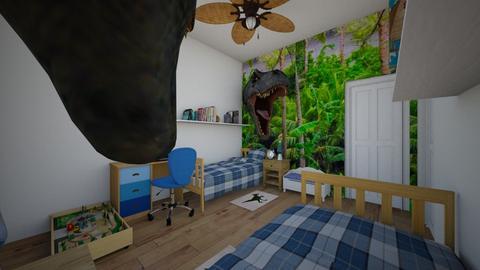 Future Paleontologists - Kids room - by SammyJPili