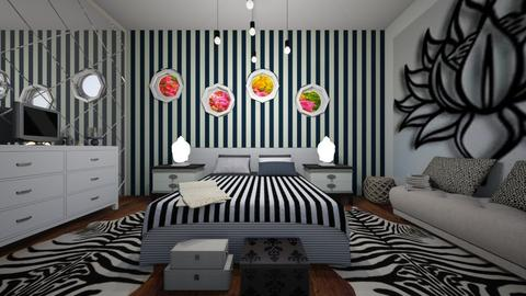 black and white - Modern - by Tininha oliveira