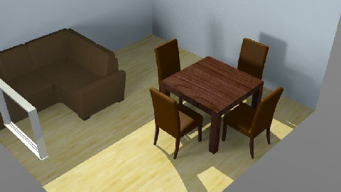 My Room03 - Dining Room - by ricardojgomez