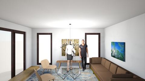 Full House 14c - Living room  - by gleidy