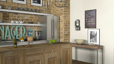 Loft - Kitchen 2 - Eclectic - Kitchen  - by LizyD