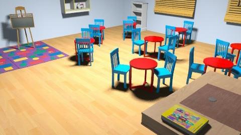 Toddler Room1 - Modern - Kids room - by feastudpreschool