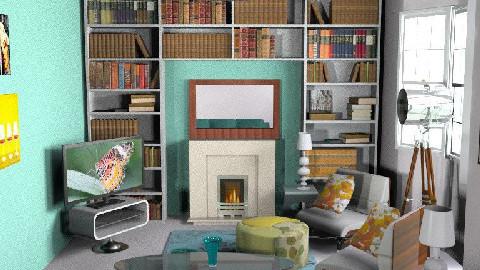 MillyC - Retro Living - Retro - Living room  - by hunny