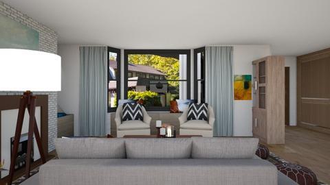 Jackson - Living room  - by louisdhe