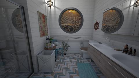 Nautical - Bathroom  - by June Thomas