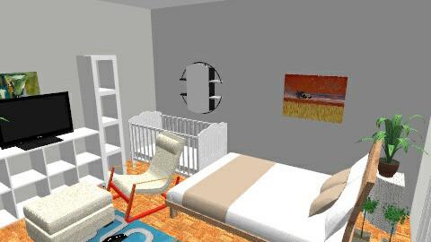 bed_livingroom_real - Classic - Bedroom - by suliadri