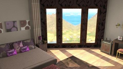 animal prink room - Classic - Bedroom  - by teen bedroom