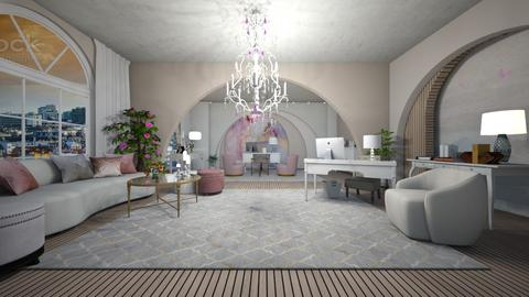 Blurry Office - by Evie_interior