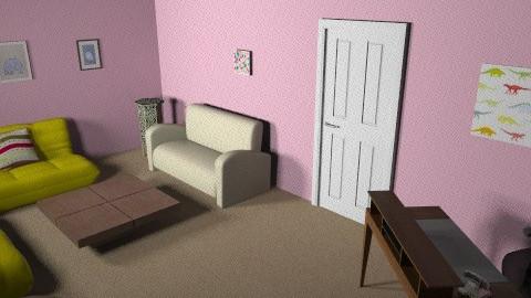 reception area - Modern - Living room - by feastudpreschool
