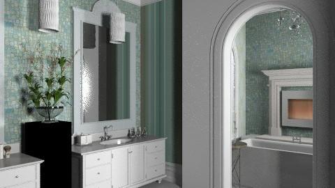 Nantucket Spa - Classic - Bathroom  - by mywishlr
