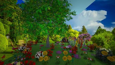 garden llama_55 - Global - Garden  - by waffledoghaha