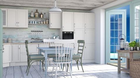 Coastal - Kitchen  - by Lizzy0715