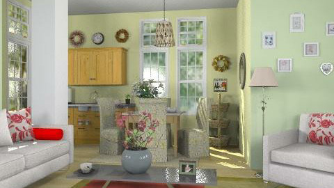 Open space - Eclectic - Living room  - by milyca8