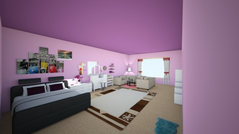 Lavender Room - Bedroom - by ChaLett