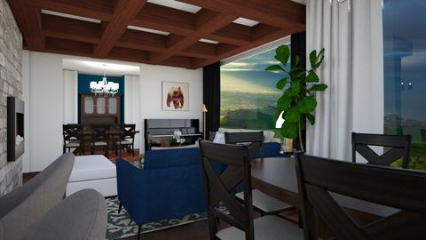 Thull Freedman 1 - Living room  - by louisdhe