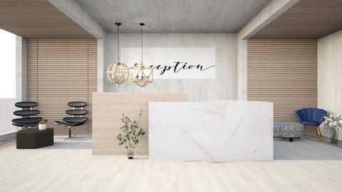 reception - Office  - by nihalruttala