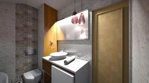 big bathroom 2 - Classic - Bathroom - by sancharib