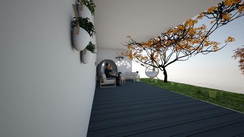 patio - Garden  - by Mimlaz
