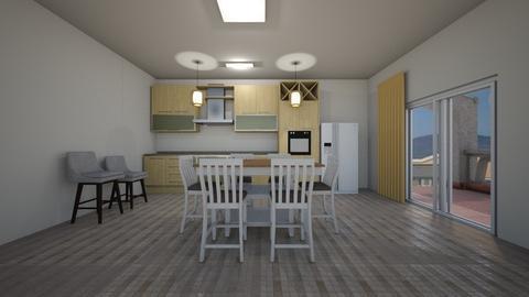 SF Kitchen - Kitchen  - by mspence03