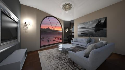 n sei - Living room  - by Luiz Klosovski