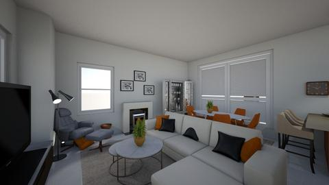 Maurice Veronique - Modern - Living room  - by Beth Hayward