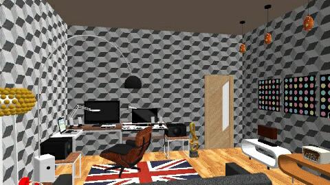 studio dj room0012 - Eclectic - Office  - by deedy saleh