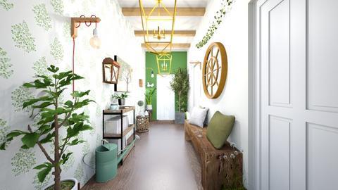 Green Hallway - by SelahH11