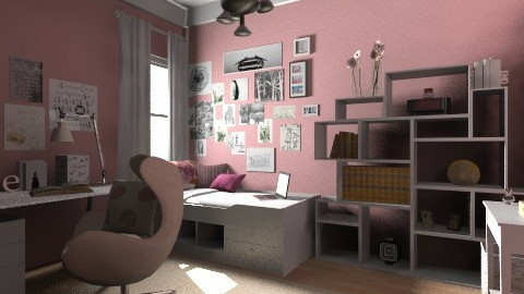 girly - Kids room  - by mirkaaa