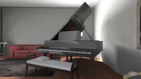 Piano Room 2 - Vintage - Living room  - by Chloe7270